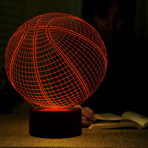 Basketball Shape 3D Led Lamp - Goamiroo Store