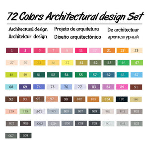 Touchfive 36/48/60/72 Colors Artist Double Headed Marker - Goamiroo Store