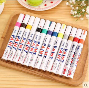 High Quality 13 Colors Permanent Marker Pen - Goamiroo Store