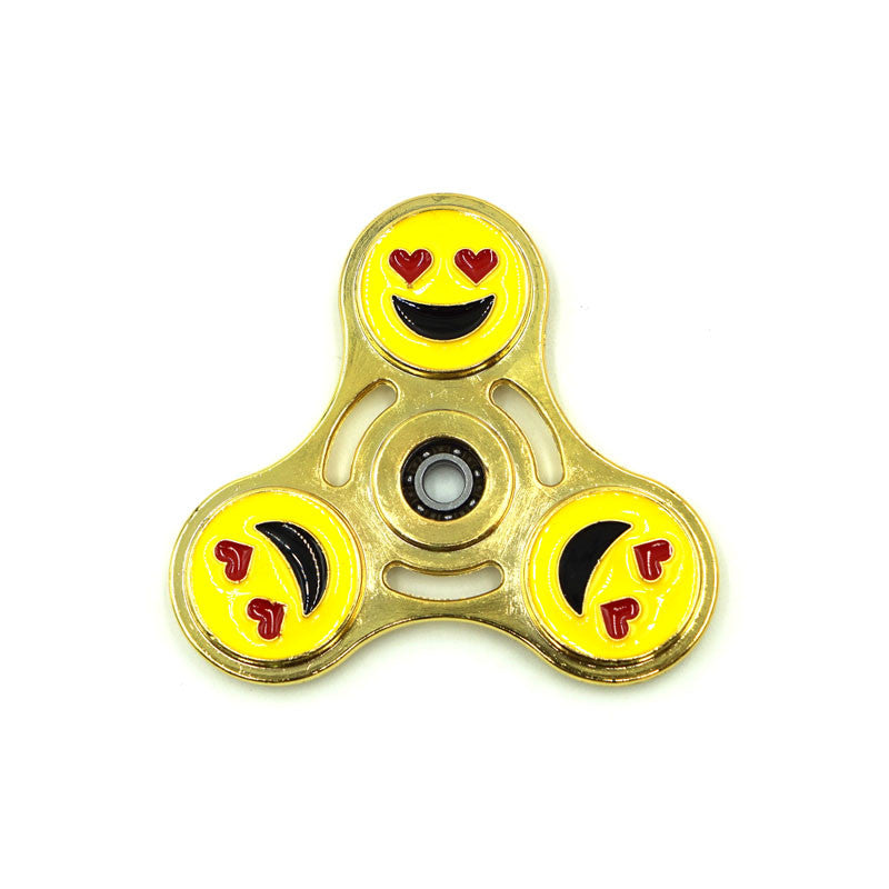 High Quality Smiling Face EDC Metal Fidget Spinner-GoAmiroo Store