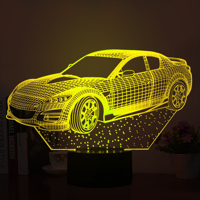Car Model 3D LED Lamp