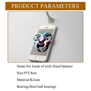 Multicolor Edc Rotation Time Long Kirsite Fidget Spinner - Goamiroo Store