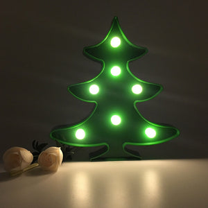 Merry Tree Marquee Led Night Light - Goamiroo Store