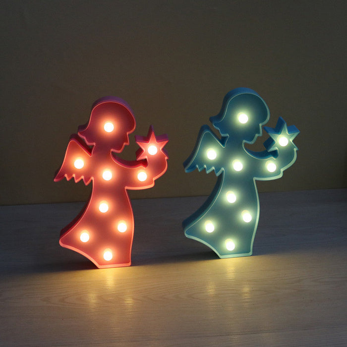 Marquee Angel Sign LED Night Light