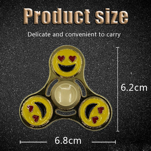 High Quality Smiling Face Edc Metal Fidget Spinner - Goamiroo Store