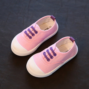 5 colors casual canvas anti-slippery kids Shoes-GoAmiroo Store