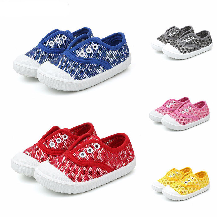 5 colors casual  breathable soft kids shoes