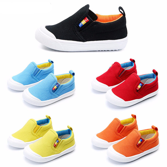 5 colors casual canvas kid shoes good quality style