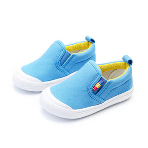 5 colors casual canvas kid shoes good quality style-GoAmiroo Store
