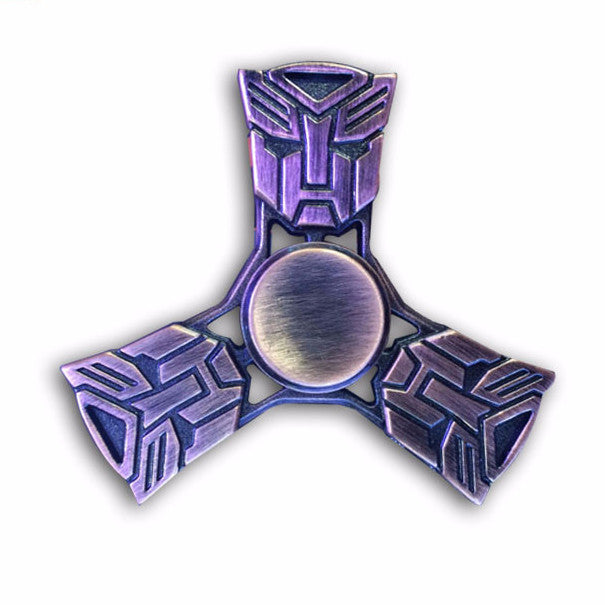 Transformers Alloy Material Fidget Spinner EDC Rotation Time Long