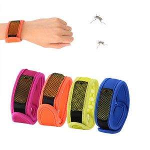 Summer Mosquito Repellent Bracelet With 4 Refill Pellets Pest Control - Goamiroo Store
