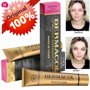 Dermacol 100% Original High Covering Makeup Foundation Hypoallergenic - Goamiroo Store