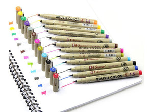 12colors Drawing Artist Soft Brush Pen-GoAmiroo Store