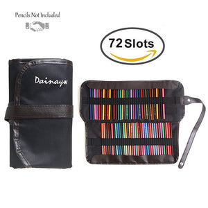 72 Pencil Holder Colored Pencil Bag-GoAmiroo Store