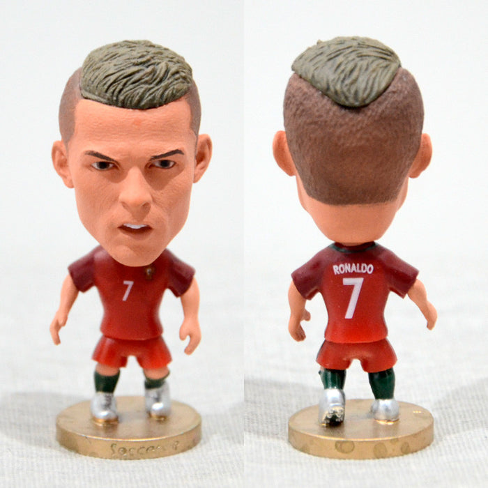Football Player C.RONALDO #7 2.5inch Action Figure
