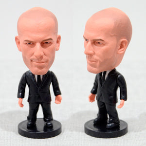 Football Player Coach Zidane Real Madrid 2.5Inch Action Figure - Goamiroo Store