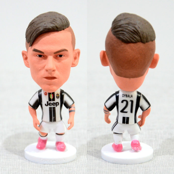 Football Player DYBALA #21 JUV 2.5inch Action Figure