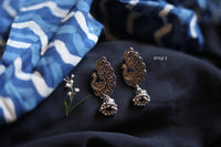 Small oxidized silver earrings (Variants available) - Anicha
