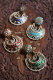 Enamel chandbalis (Colours available) - Anicha