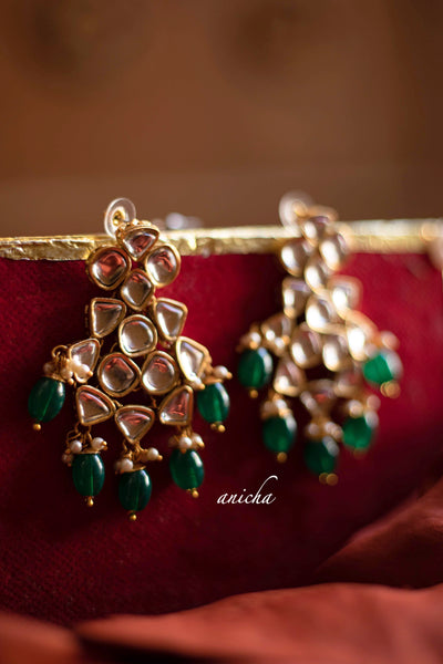 Kundan balis (Colours available) - Anicha