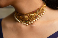 Antique temple choker set
