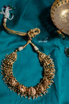 Antique temple necklace set - Anicha