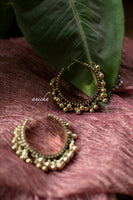 Ghungroo hoops (Silver and Gold available) - Anicha