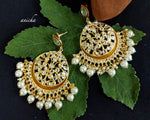 Kundan tree chandbalis (Colours available) - Anicha