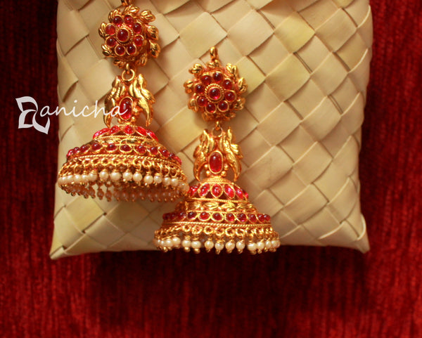 Big kemp umbrella jhumkas - Anicha