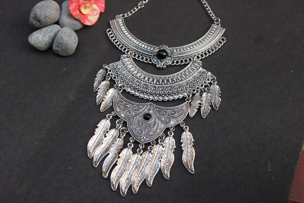 Boho step necklace - Anicha
