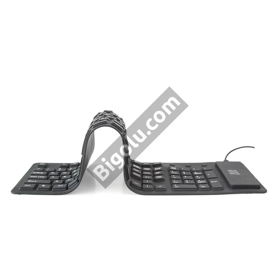 Flexible Water Proof  Silicone Keyboard