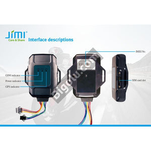 JM01 Waterproof Vehicle GPS Tracker