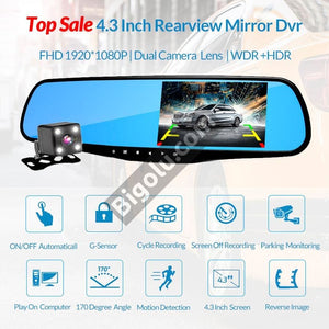 S360 Dual Lense Car DVR Camera
