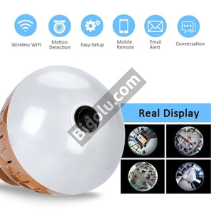 Ultra HD Bulb Wifi Camera