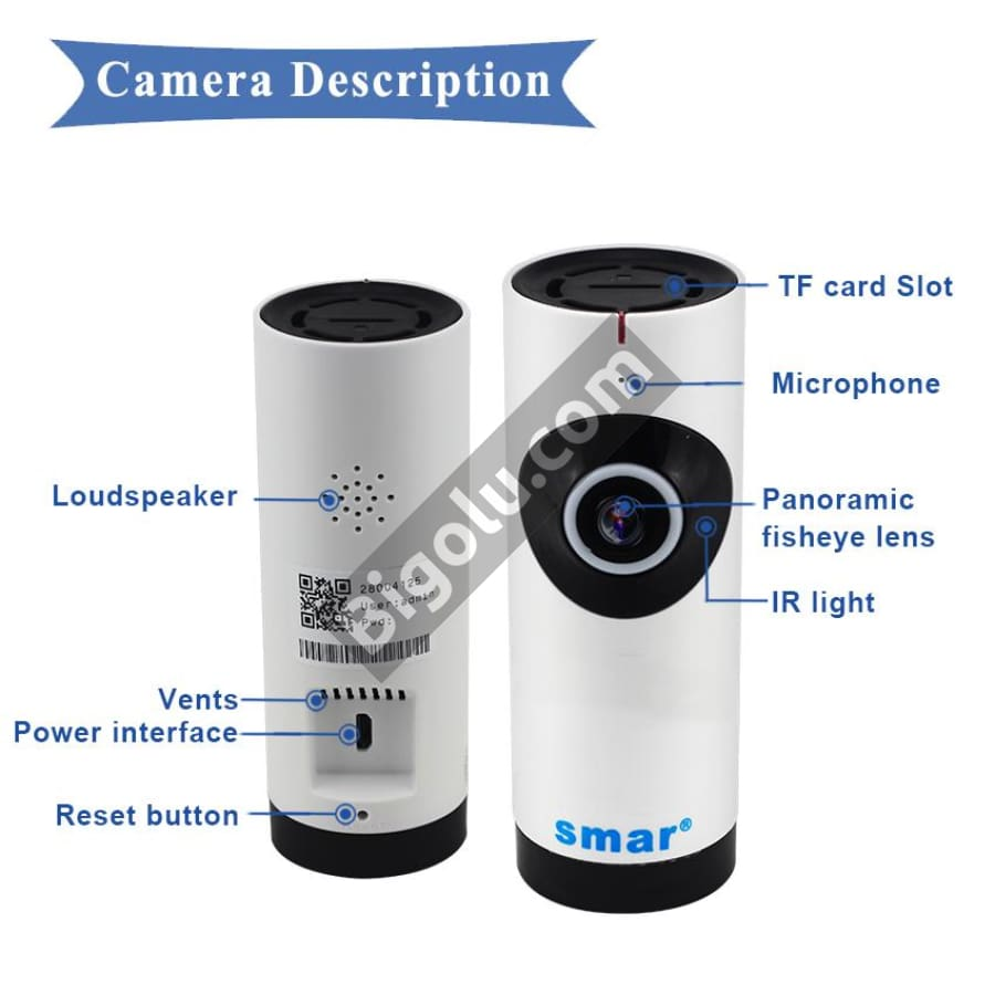 V380 Panoramic 180° Stand Alone Camera