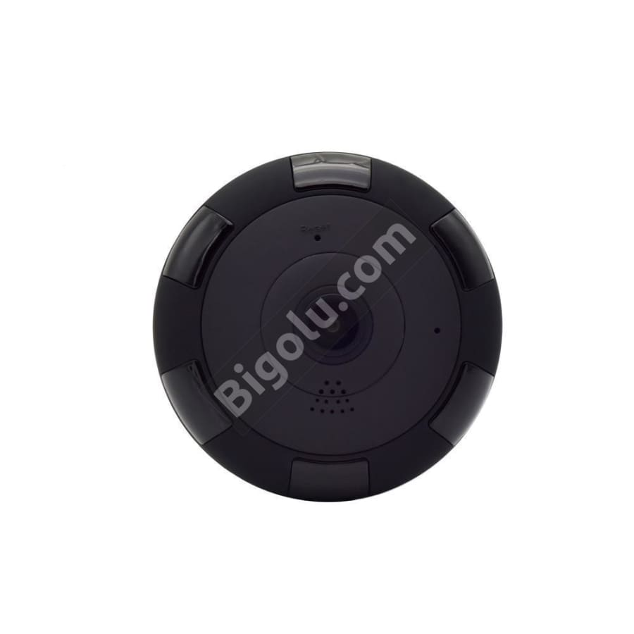 V380 Panoramic FishEye Black Camera