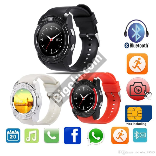 V8 Android 5 1 Smart Watch