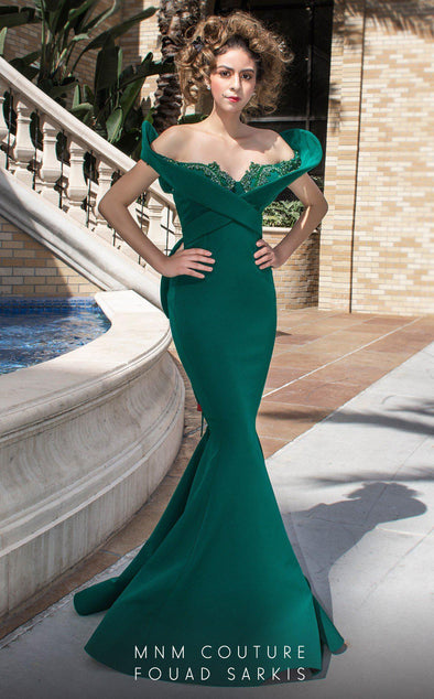 Style 2426A-Fouad Sarkis-4/36-GREEN-onlinemarkat