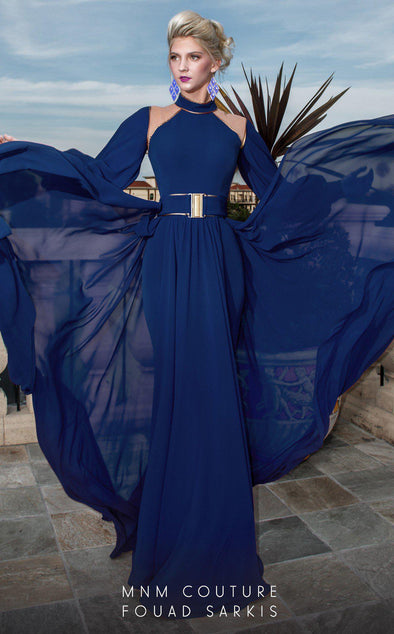 Style 2480A-Fouad Sarkis-4/36-BLUE-onlinemarkat
