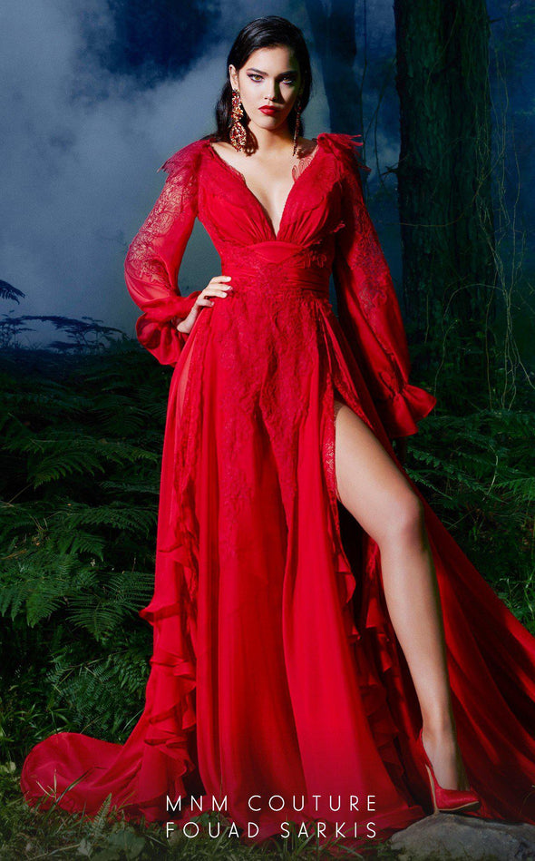 Style 2499-Fouad Sarkis-4/36-RED-onlinemarkat