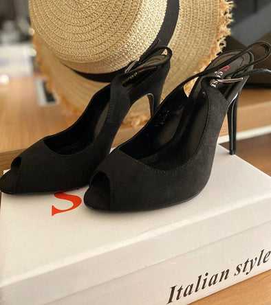 Black Sandal - SH102-shoes-onlinemarkat-onlinemarkat