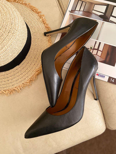 Black High Heel - SH106-shoes-onlinemarkat-onlinemarkat