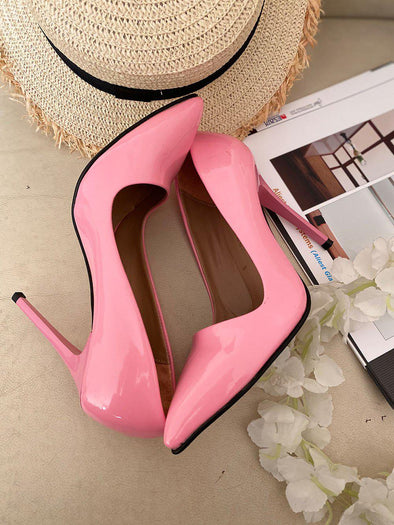 Pink High Heel - SH111-shoes-onlinemarkat-onlinemarkat