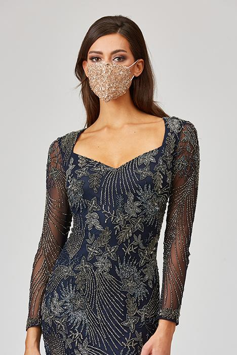 LARA BEADED FACE MASK