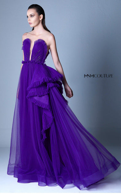 Style G1102-Gaby Charbachi-0/32-PURPLE-onlinemarkat