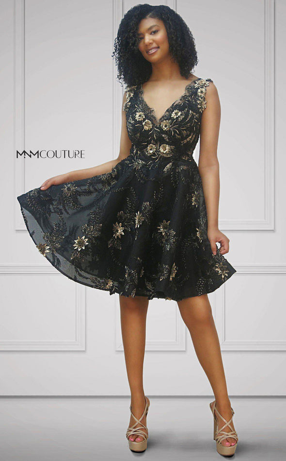 Style K3675-MNM COUTURE-0/32-BLACK-onlinemarkat