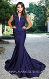 Style L0001-MNM COUTURE-XS-NAVY BLUE-onlinemarkat