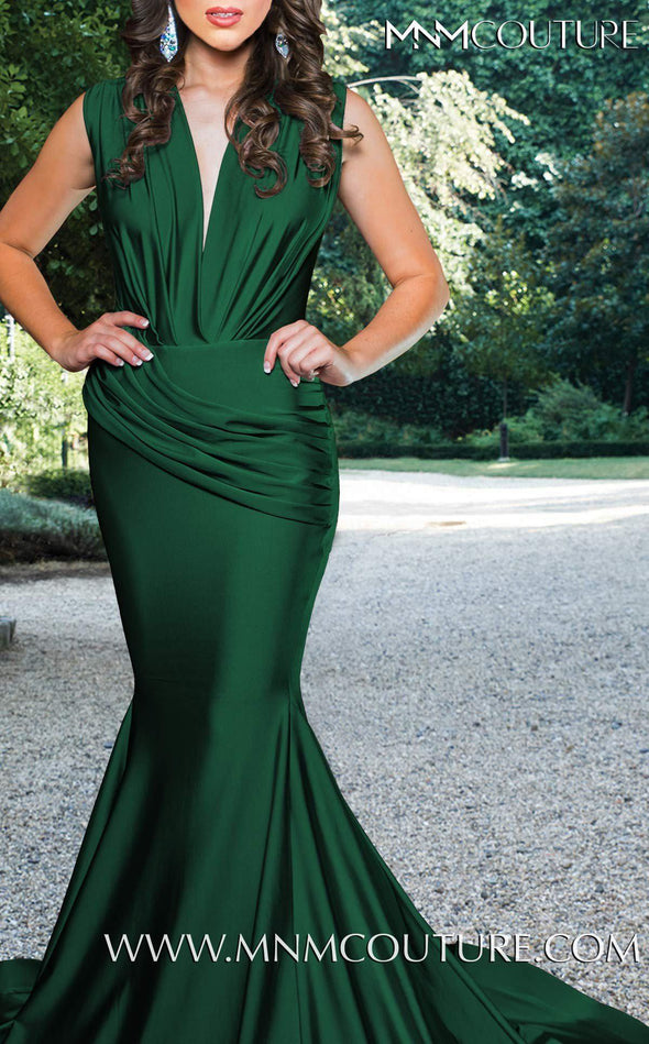 Style L0001-MNM COUTURE-XS-GREEN-onlinemarkat