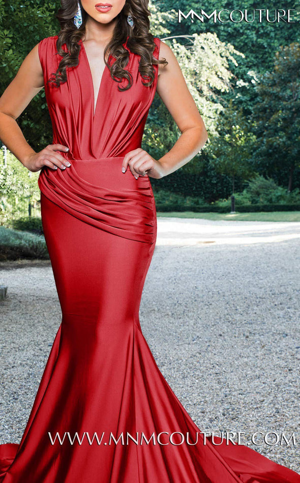 Style L0001-MNM COUTURE-XS-RED-onlinemarkat