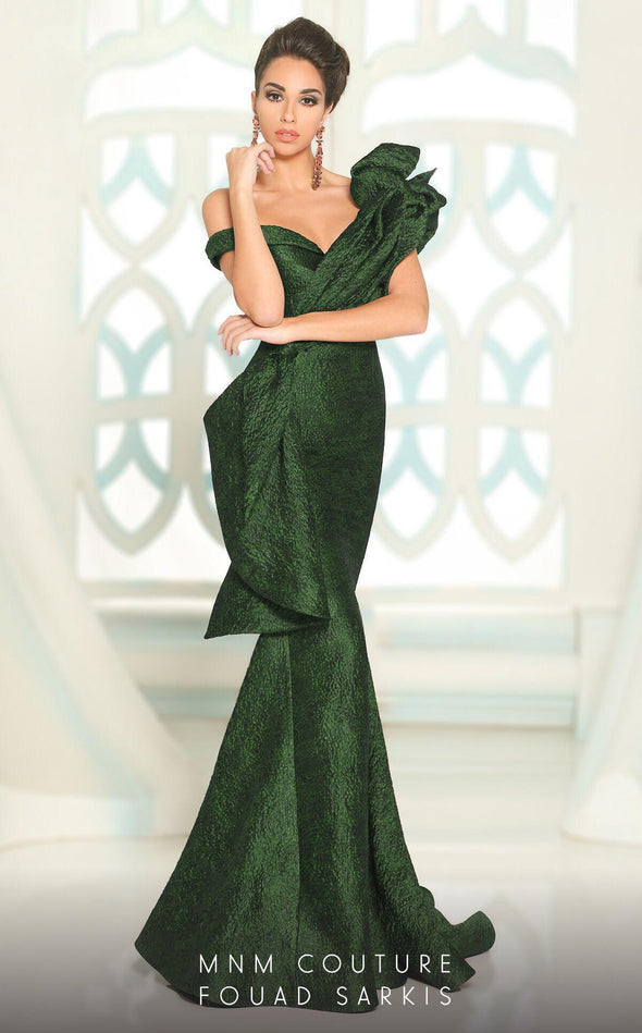 Style 2519-Fouad Sarkis-4/36-EMERALD GREEN-onlinemarkat